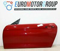 BMW Porta Anteriore Sinistra 4er F33 F83 M4 Convertible Rosso Melbourne A75