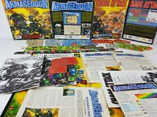 Battle for Armageddon + Chaos Attack Board Game bundle + loads extras[ENG, 1992]