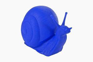 Cracking Art - Chiocciola blu
