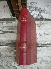 Verhaeren 1920 toute la Flandre tome III les plaines ex libris reliure signée