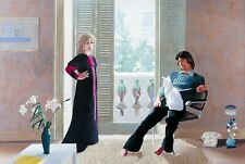 david hockney mr and mrs clark   Wall Art + Various sizes