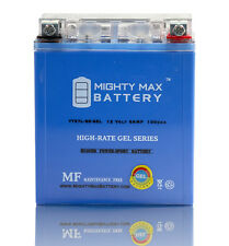 Mighty Max 12V 6AH 100CCA GEL Battery for Motorcycle Powersports Scooter