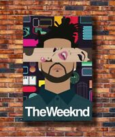 Art The Weeknd Abel Makkonen Singer Music -20x30 24x36in Poster - Hot Gift C3053