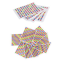 20Pcs Multi- color Love Heart & Star Adhesive Stickers Reward School Teacher