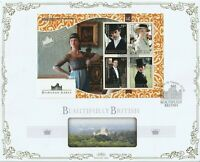 MUSTIQUE 5 MARCH 2014 DOWNTON ABBEY M/SHEET O/S VLE BENHAM FIRST DAY COVER