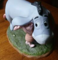"Disney Winnie the Pooh & Friends ""We Can Share Secrets"" Eeyore & Piglet Figurine"
