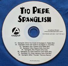 Tio Pepe Spanglish CD Promo 8 Mixes Chris The Greek Giuseppe D DJ Zilos 2011