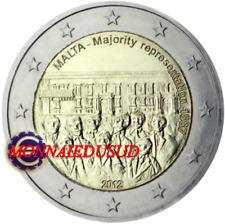 2 Euro Commémorative Malte 2012 - Majorité Représentative