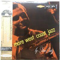 Stan Getz – More West Coast Jazz Japanese Reissue 1993 OBI