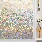 Rabbitgoo 3D Privacy Window Film UV Blocking Decorative Static Cling Glass Film