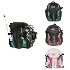 Rawlings Storm Girls T-Ball Softball Batting Bag Backpack