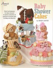 Baby Shower Cakes Centerpiece Crochet Patterns Sports Animal Flower Themes NEW