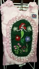 """Embroidered Catheter night bag cover . """"The Little Mermaid"""""""