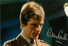 RICHARD FRANKLIN DR WHO CAPT MIKE YATES AUTOGRAPH SIGNED 6 x 4 PRE PRINTED PHOTO