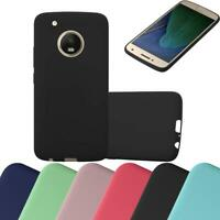 Silicone Case for Motorola MOTO G5 PLUS Shock Proof Cover Candy TPU Bumper