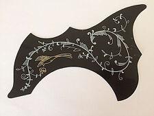 Hummingbird Pattern Self-adhensive Pickguard Scratch Plate for Acoustic Guitar