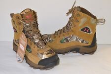 New $150 Under Armour Bozeman Speed Freek Cupron Hiking Boots Camo sz 6 Hunting