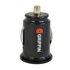 Negro Dual Doble Puerto USB 12V Cargador de mechero de coche para iPhone 5S Griffin