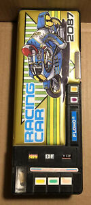 Flomo Racing Car Suzuki Motorcycle Turbo Touch 2087 Pencil Box Vintage 90's