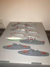 Grouping of 11 Tootsietoy Ships Lot #21.