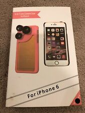 4 in 1 External Wide Telephoto Camera Lens Case For iPhone 6 Plus new in box