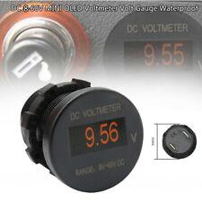 Boat Marine DC 8-60V  OLED Digital Display Voltmeter Gauge Waterproof Truck ATV