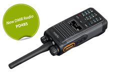 PD 485 U DMR Hytera radio a mano, nuovo modello, M. Bluetooth, GPS, DMR, volltastatu