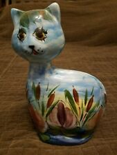 "Turov Hand Painted 9"" Cat Free Shipping!"