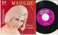 """ROCCO GRANATA 45 TOURS 7"""" BELGIUM MARILOU"""
