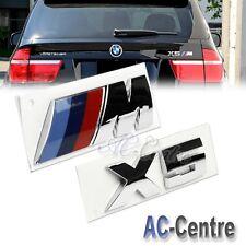 X5 OEM GENUINE TRUNK REAR BOOT LETTER EMBLEM BADGE SET FOR ALL BMW X5 M POWER