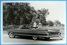 """1961 Cadillac Convertible Top Down 12 x 18"""" Black & White Picture"""