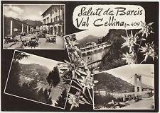 SALUTI DA BARCIS - VAL CELLINA - VEDUTINE (PORDENONE) 1965