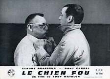 CLAUDE BRASSEUR JACQUES MONOD LE CHIEN FOU 1966  PHOTO D'EXPLOITATION N°4