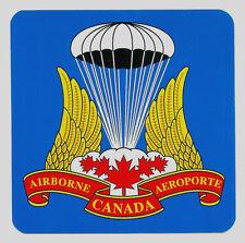 Canadian Airborne Decal - Canadian Airborne Regt Badge Design