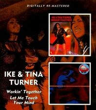 Workin' Together/Let Me Touch Your Mind by Ike & Tina Turner (CD, Aug-2011, Beat