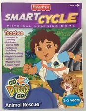 Fisher-Price Smart Cycle Physical Learning Game: Animal Rescue, Go Diego Go