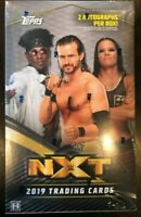 2019 Topps WWE NXT Factory Sealed Hobby Box