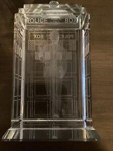doctor who tardis glass