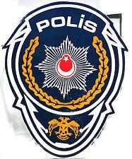 Genuine Turkey Police Car Decal Sticker Obsolete