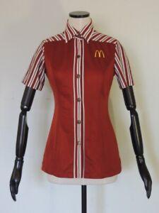 Vintage 1970s McDonald's Women's Uniform Shirt