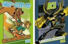 Scooby Doo & Loonatics Warner Bros Kids TV Promo Trading Cards - Comic Con 2006