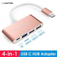 LENTION USB-C 3.1 HUB Typ C auf USB 3.0 Adapter Ladegerät für 2019 MacBook Pro