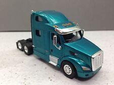 HO 1/87 TSH # 128 Peterbilt 587 Tandem Axle Tractor - Teal Green