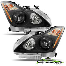 [Black]For 2008-2015 Infiniti G37/Q60 Coupe Factory Style Headlights