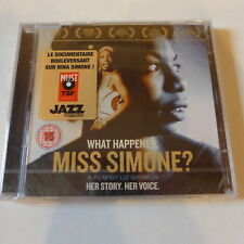 CD+DVD/ Nina Simone - What Happened, Miss Simone. Her story, her voice