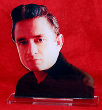 statuette photosculptée 10x15 cm star johnny cash 2 estatua statua
