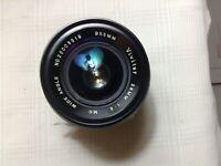 VIVITAR 28mm f2  Prime Lens