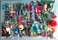 Mixed Lot  Action Figures Power Rangers, Marvel ,Star Wars ,others Boys Toys-C42