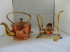 More details for copper kettle & spirit stove