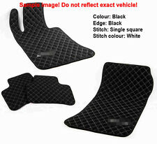 Leather Car Floor Mats Luxury Bespoke Fully Tailored Fit Ferrari 348 1989-1995
